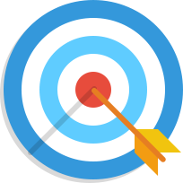 Objectives plan icon